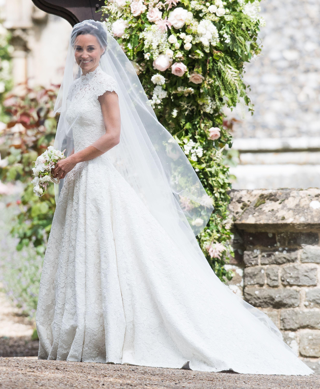 Pippa Middleton\'s Wedding Dress Makes Her Look Like a Princess ...