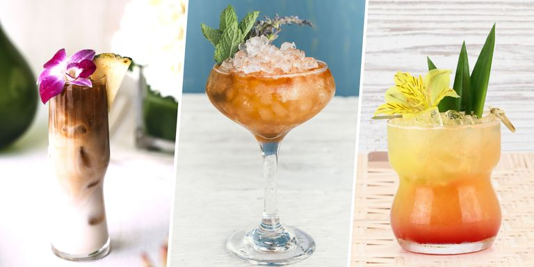 60 easy summer cocktail recipes refreshing summer drink for Easy mixed drinks to make at home