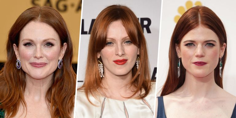 26 Best Auburn Hair Colors - Celebrities with Red Brown Hair