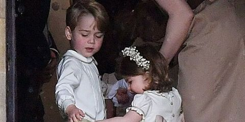 See Prince George and Princess Charlotte at Pippa Middleton's Wedding
