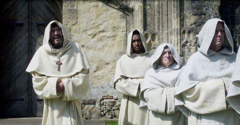 Religious institute, Deacon, Cope, Event, Convent, Clergy, Vestment, Priesthood, Rite, Robe,