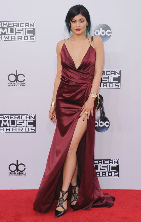<p>In Alexandre Vauthier at the American Music Awards in 2014</p>