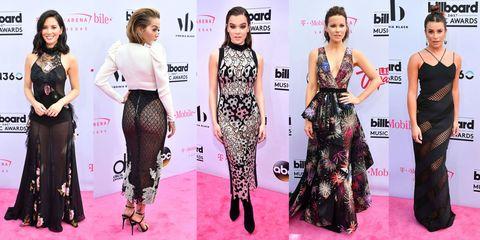 Clothing, Dress, Waist, Pink, Flooring, Style, Fashion model, Beauty, Pattern, Fashion,