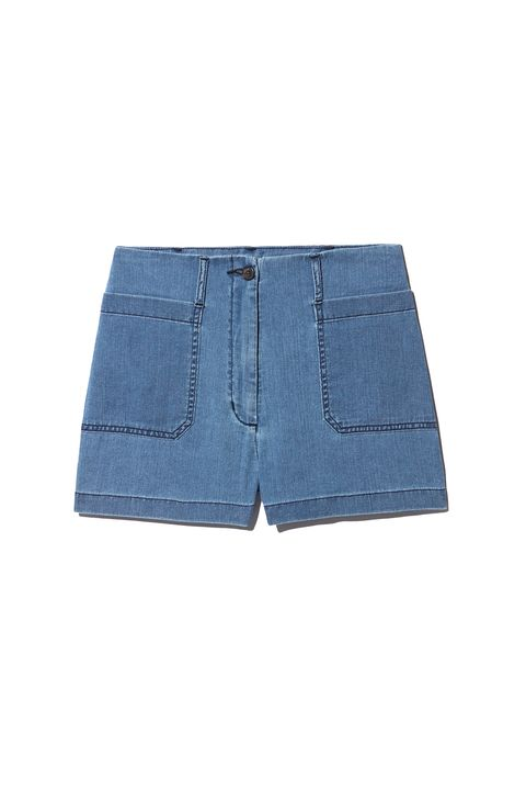 """<p>Also v. French with the high rise and symmetry, but in a more relaxed Bardot way. (Though you wouldn't want to get melted fior di latte on these either.)&nbsp;</p><p>Aritzia, $65; <a href=""""http://us.aritzia.com/product/naves-short/59411.html?dwvar_59411_color=3555"""" target=""""_blank"""" data-tracking-id=""""recirc-text-link"""">aritzia.com</a>.</p>"""