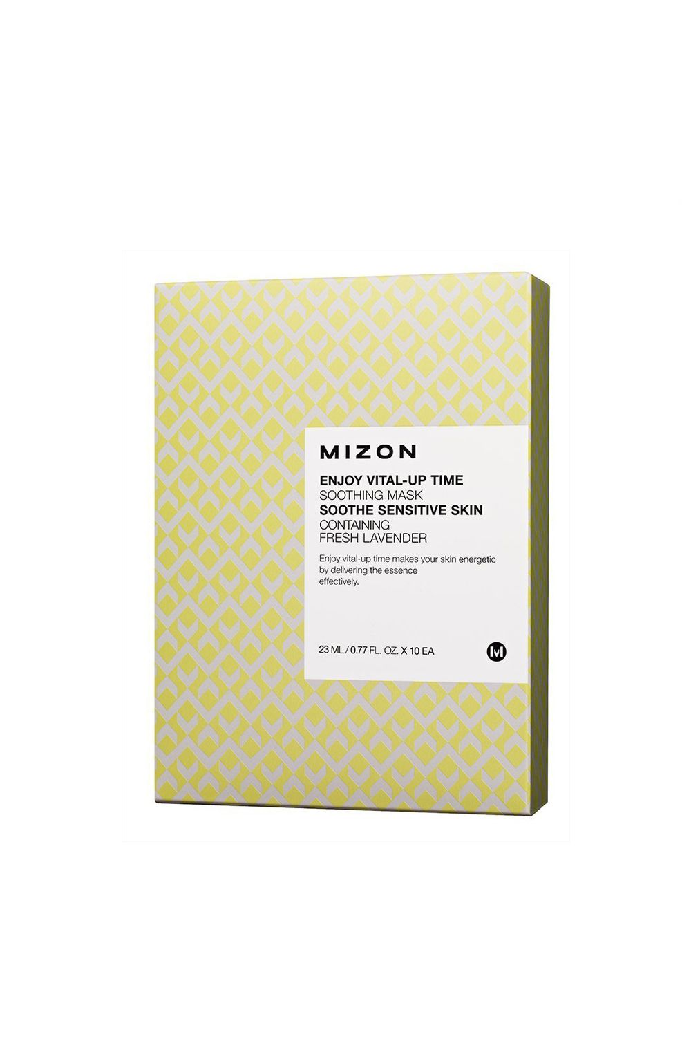 Mizon Enjoy Vital-Up Time Soothing Mask Mizon Enjoy Vital-Up Time Soothing Mask, $4 SHOP IT For skin that's more reactive, use this mask to alleviate redness and brighten up discoloration.