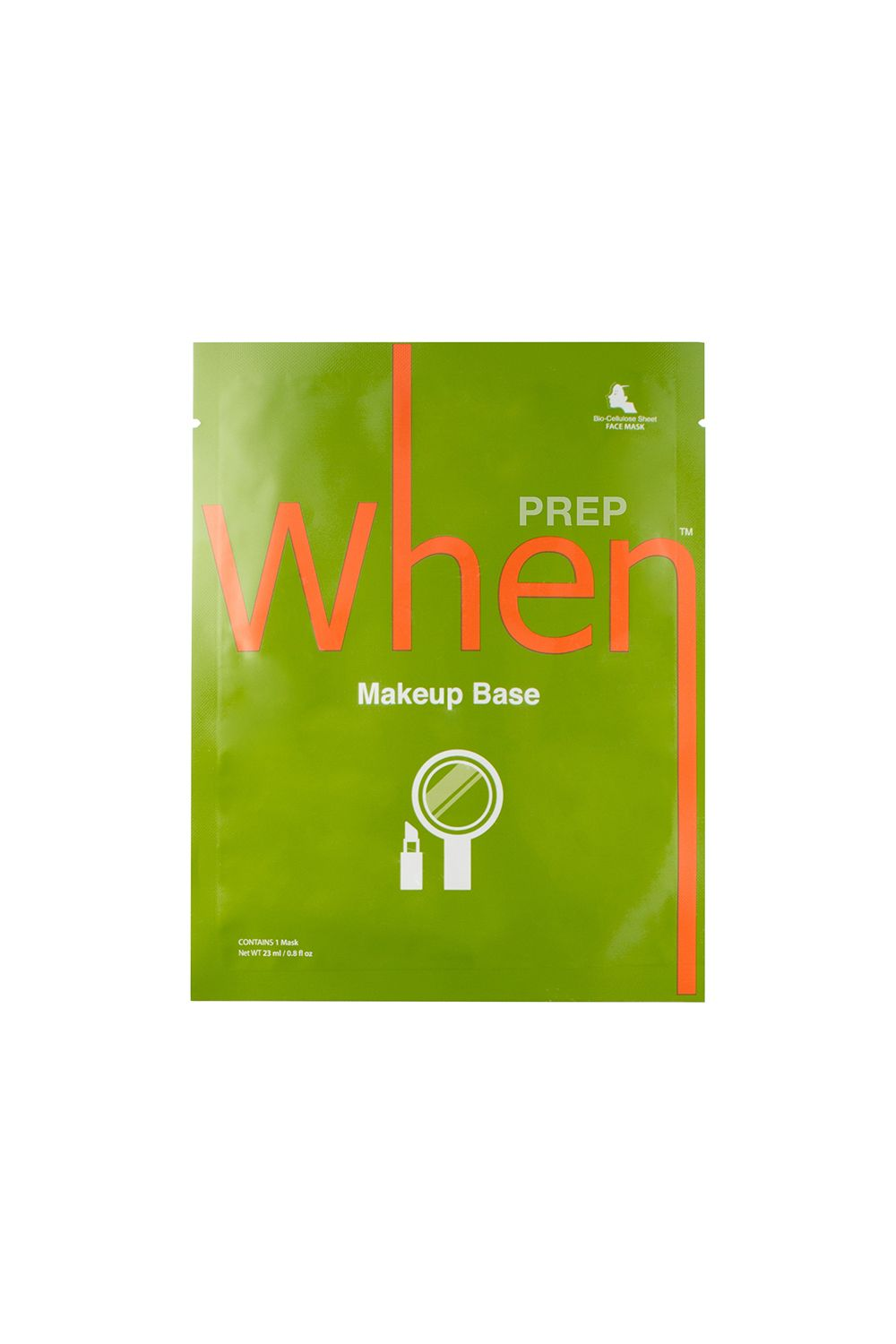When Makeup Base Sheet Mask When Makeup Base Sheet Mask, $7 SHOP IT This bio-cellulose mask is like a tall glass of water for your face, which is why it's the perfect product to tone your skin before applying makeup.