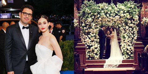 Emmy Rossum got married