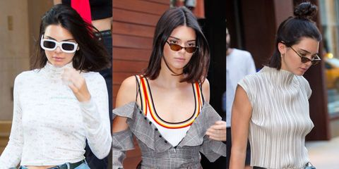 Eyewear, Hair, Sunglasses, White, Glasses, Shoulder, Clothing, Hairstyle, Fashion, Street fashion,