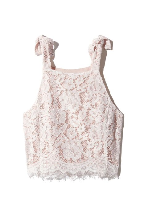 "<p>Like they googled ""What do millennials like?"" and mashed the top results (pink, lace, shoulder ties) together.&nbsp;</p><p>Aritzia, $60; <a href=""http://us.aritzia.com/product/devere-blouse/62855.html?dwvar_62855_color=6824"" target=""_blank"" data-tracking-id=""recirc-text-link"">aritzia.com</a>.</p>"