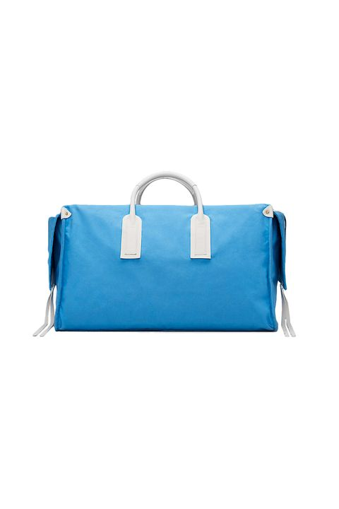Bag, Style, Electric blue, Aqua, Luggage and bags, Shoulder bag, Azure, Travel, Turquoise, Strap,