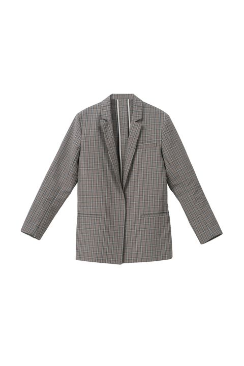 "<p>Back buttons take the standard gray flannel blazer up a notch.&nbsp;</p><p>Front Row Shop, $94; <a href=""http://www.frontrowshop.com/product/frs-wide-shoulder-blazer-with-back-button"" target=""_blank"" data-tracking-id=""recirc-text-link"">frontrowshop.com</a>.</p>"