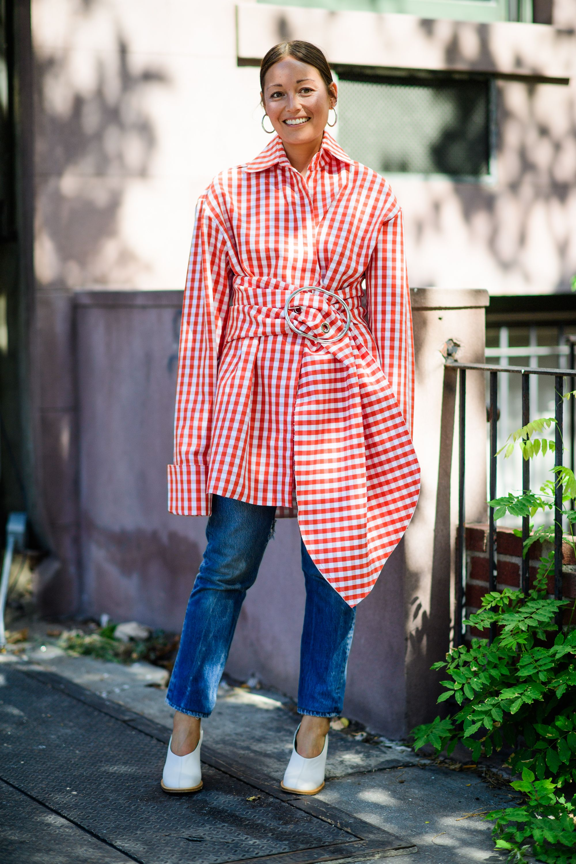 """<p>""""Gingham was once associated with a certain preppy style but has now become much more fashionable thanks to J.W.Anderson, Rosie Assoulin, and Altuzarra,"""" says Aiken. """"It's our alternative and welcomed second option to stripes, a perennial summer print."""" Elyse Walker, fashion director of <a href=""""http://www.fwrd.com/"""" data-tracking-id=""""recirc-text-link"""">Forward</a>, agrees. """"<strong data-redactor-tag=""""strong"""" data-verified=""""redactor"""">I am loving anything with gingham or ruffles,</strong>"""" she says. """"<a href=""""http://www.fwrd.com/brand-caroline-constas/1c2dec/"""" data-tracking-id=""""recirc-text-link"""">Caroline Constas</a> and <a href=""""http://www.fwrd.com/brand-johanna-ortiz/d65bda/"""" data-tracking-id=""""recirc-text-link"""">Johanna Ortiz</a> do these so well.<span class=""""redactor-invisible-space"""" data-verified=""""redactor"""" data-redactor-tag=""""span"""" data-redactor-class=""""redactor-invisible-space"""">""""</span></p>"""