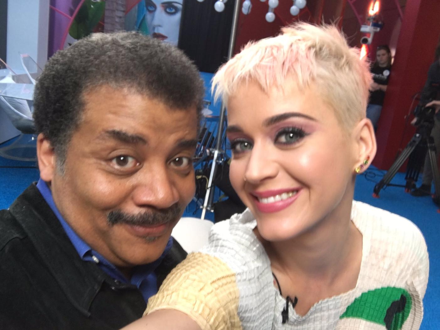 Katy Perry Neil deGrasse Tyson
