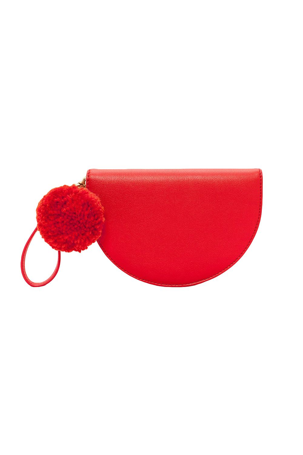 "<p>Buy another half-moon clutch&nbsp&#x3B;in pink so two halves can become a whole. Symbolic, no?&nbsp&#x3B;</p><p><strong data-redactor-tag=""strong"">BUY IT:&nbsp&#x3B;</strong><span class=""redactor-invisible-space"" data-verified=""redactor"" data-redactor-tag=""span"" data-redactor-class=""redactor-invisible-space""></span>Bando, $55&#x3B; <a href=""https://www.bando.com/collections/bff-bags/products/comrade-tech-wristlet-punch"" target=""_blank"" data-tracking-id=""recirc-text-link"">bando.com</a>.</p>"