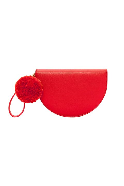 "<p>Buy another half-moon clutch&nbsp;in pink so two halves can become a whole. Symbolic, no?&nbsp;</p><p><strong data-redactor-tag=""strong"">BUY IT:&nbsp;</strong><span class=""redactor-invisible-space"" data-verified=""redactor"" data-redactor-tag=""span"" data-redactor-class=""redactor-invisible-space""></span>Bando, $55; <a href=""https://www.bando.com/collections/bff-bags/products/comrade-tech-wristlet-punch"" target=""_blank"" data-tracking-id=""recirc-text-link"">bando.com</a>.</p>"