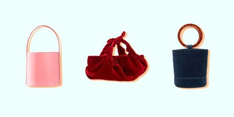 Red, Bag, Handbag, Product, Footwear, Fashion accessory, Material property, Shoe,