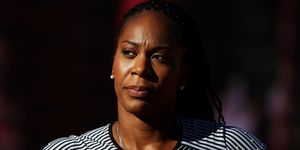 Olympic athlete richards-ross on abortion in track and field