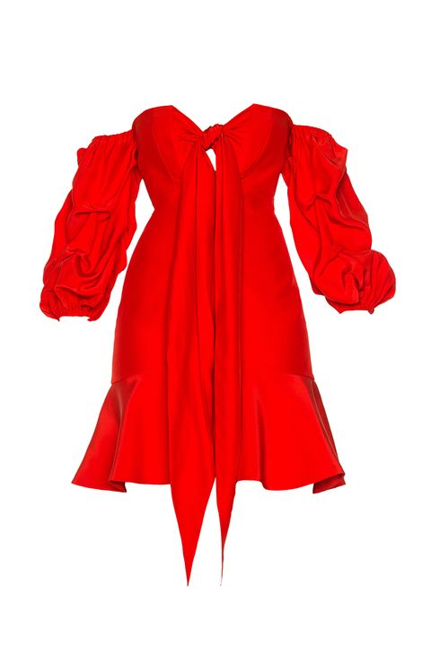 Sleeve, Collar, Textile, Red, Carmine, Costume accessory, Costume, Maroon, Costume design, Fashion design,