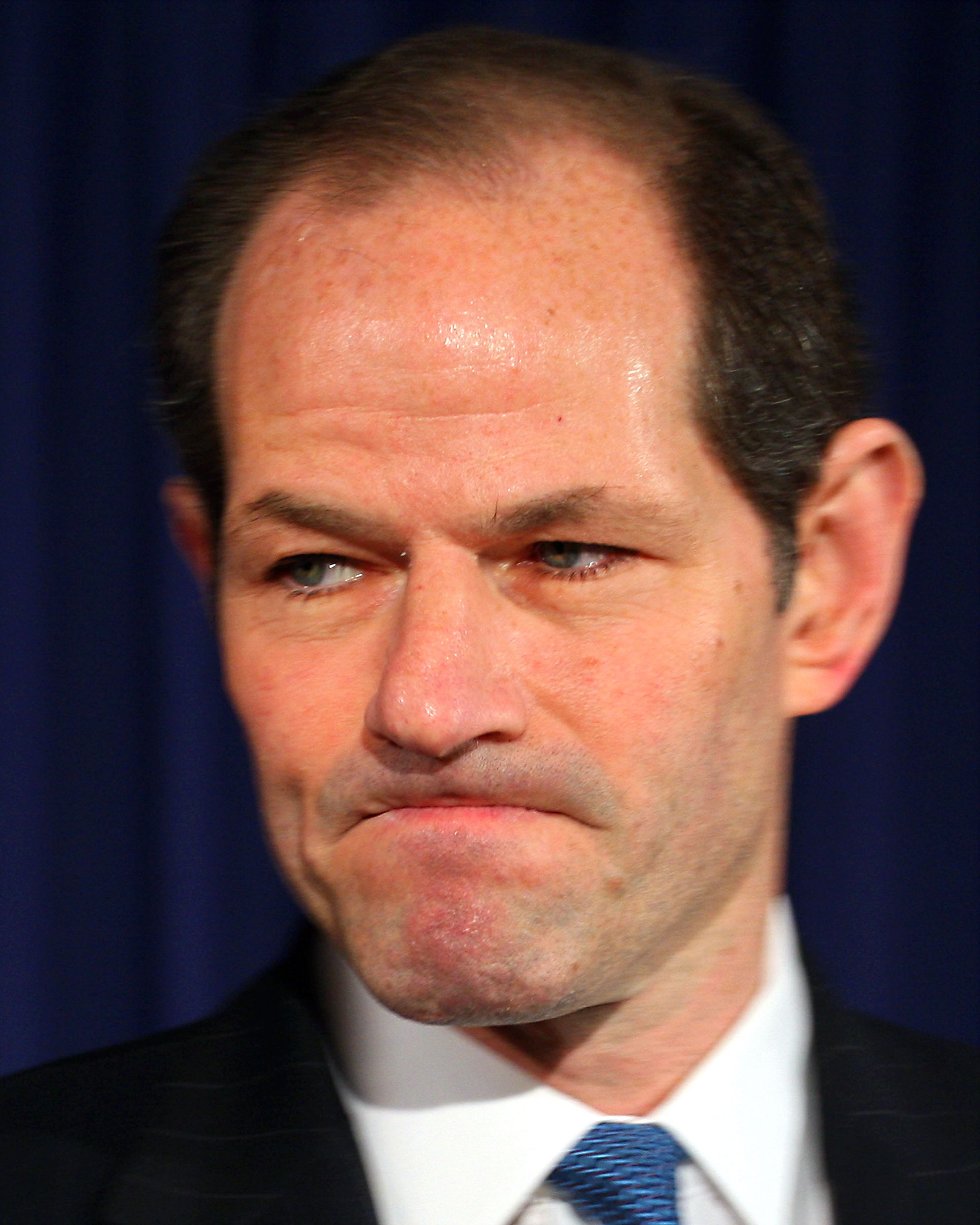Governor Eliot Spitzer announces his resignation at his midtown office on Wednesday afternoon just two days after it was uncovered that he was a client of a high-class international prostitution ring.