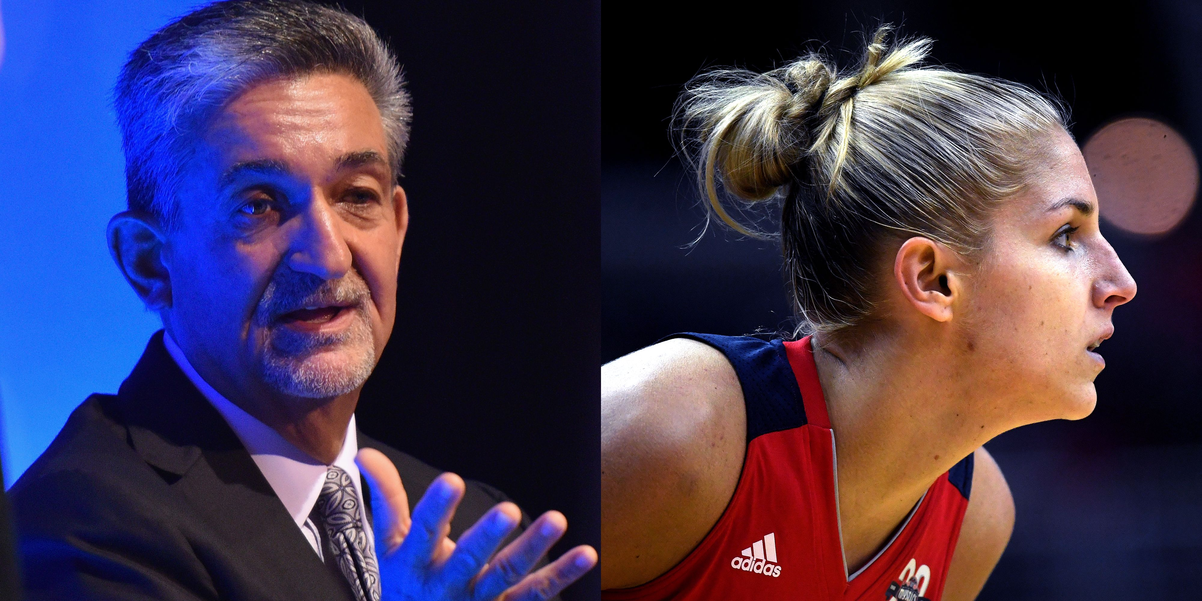 2092f906c9f1 Washington Mystics Owner Ted Leonsis and Star Player Elena Delle Donne Are  Plotting to Transform the WNBA