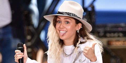 Miley Cyrus feels ageless and genderless