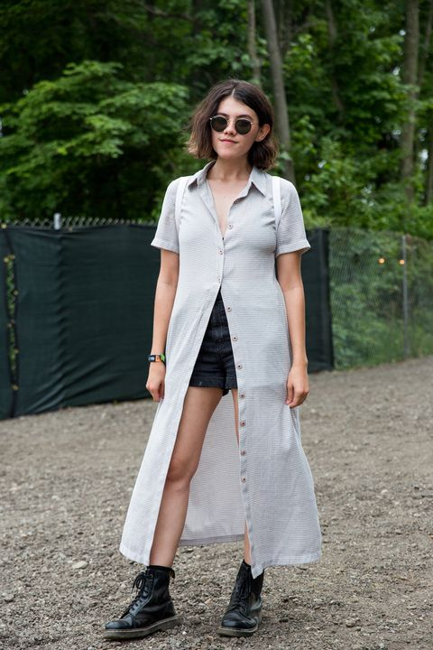 <p>Somebody listened when we said one of our favorite styling tricks for the summer was an open shirtdress over shorts (or a skirt).&nbsp;</p>