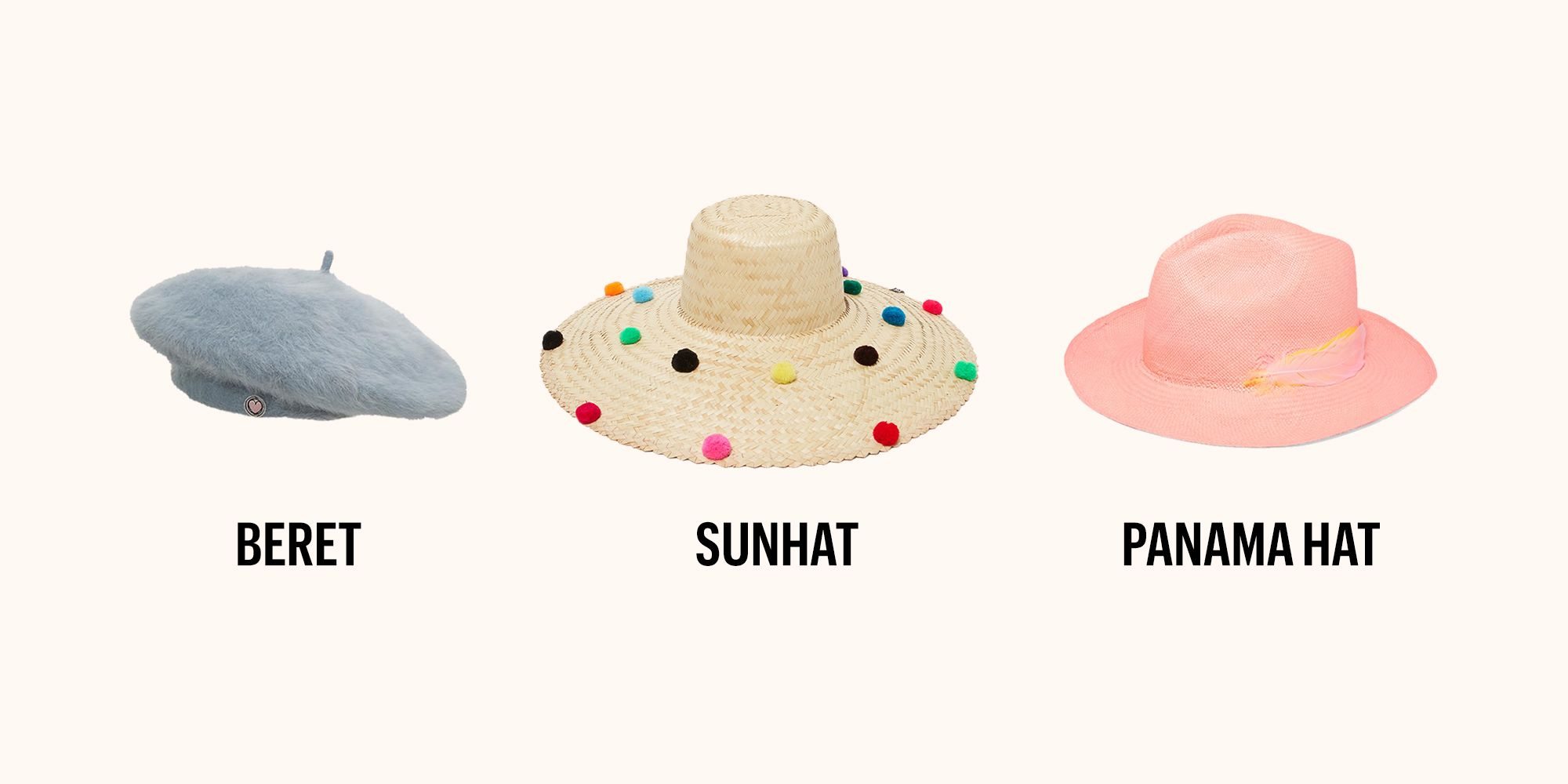 Types of Hats - Guide to Different Kinds of Hats b6b518fe7e8