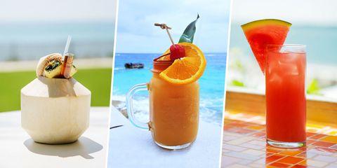 Tropical Cocktail Recipes - Island Cocktails