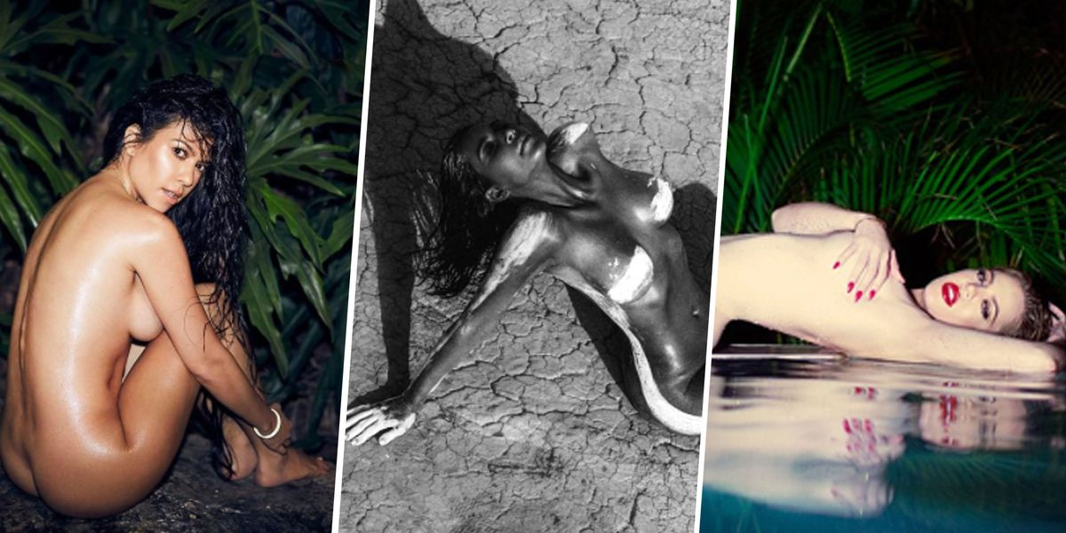 Every Single Time the Kardashians Have Posed *Fully* Nude and Just Straight Owned It