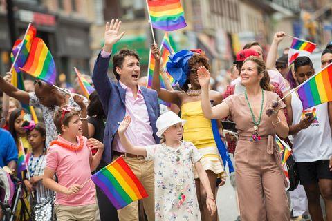 Justin Trudeau at 2017 Toronto Pride