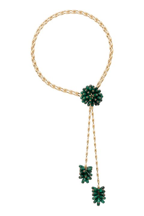 "<p>This statement necklace from the Cactus de Cartier Collection feels sexy and beachy—making it perfect for any occasion.&nbsp;<span class=""redactor-invisible-space"" data-verified=""redactor"" data-redactor-tag=""span"" data-redactor-class=""redactor-invisible-space""></span></p><p><em data-redactor-tag=""em"" data-verified=""redactor"">Cartier Paris Nouvelle Vauge Necklace, $67,500</em></p><p><strong data-redactor-tag=""strong"" data-verified=""redactor"">BUY IT:&nbsp;</strong><a href=""http://www.cartier.com/en-us/collections/jewelry/categories/necklaces/paris-nouvelle-vague/h7000085-paris-nouvelle-vague-necklace.html"" data-tracking-id=""recirc-text-link"">www.cartier.com</a><span class=""redactor-invisible-space"" data-verified=""redactor"" data-redactor-tag=""span"" data-redactor-class=""redactor-invisible-space""> or contact Cartier.</span></p>"