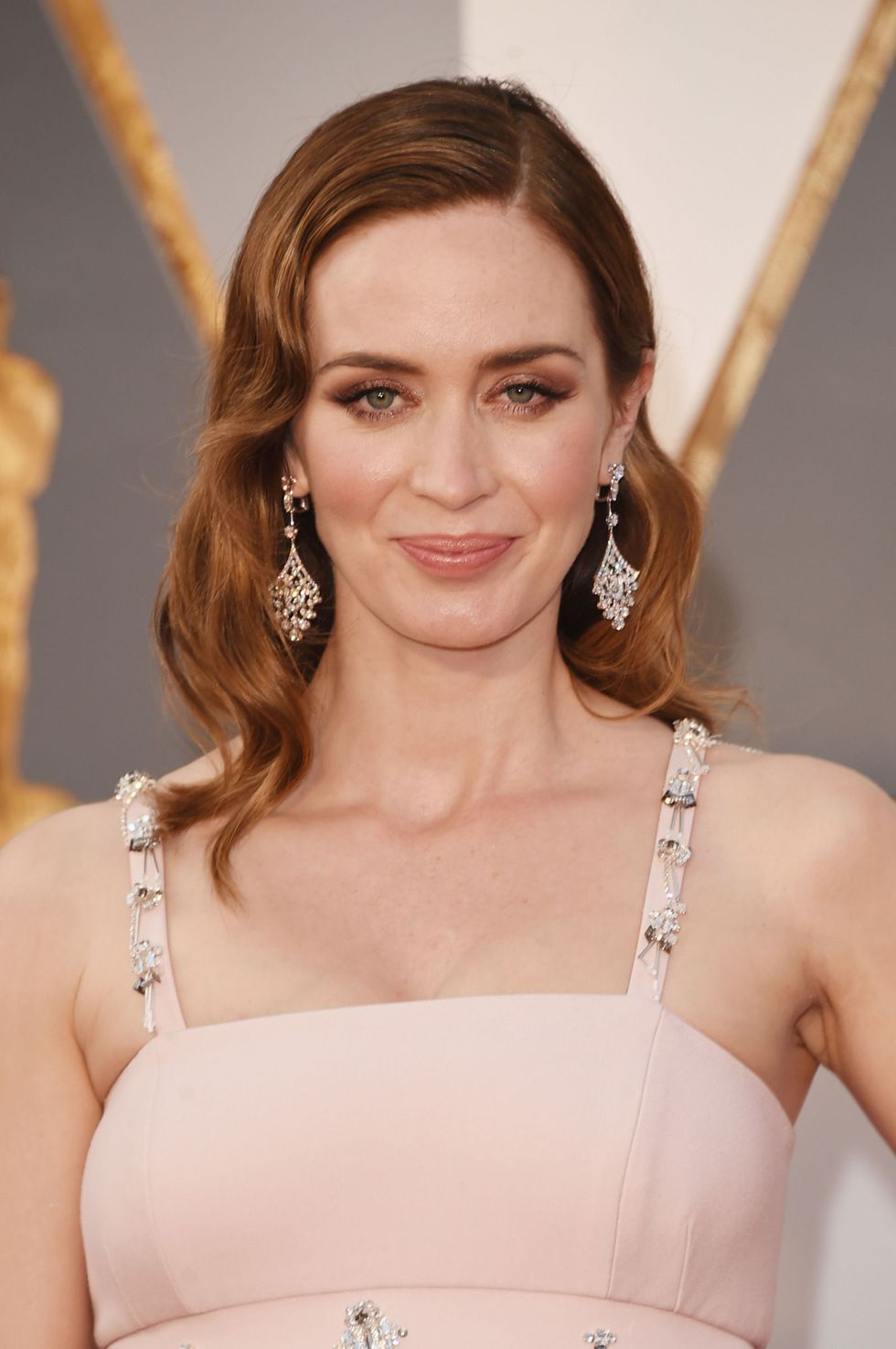 Emily Blunt's Copper Waves
