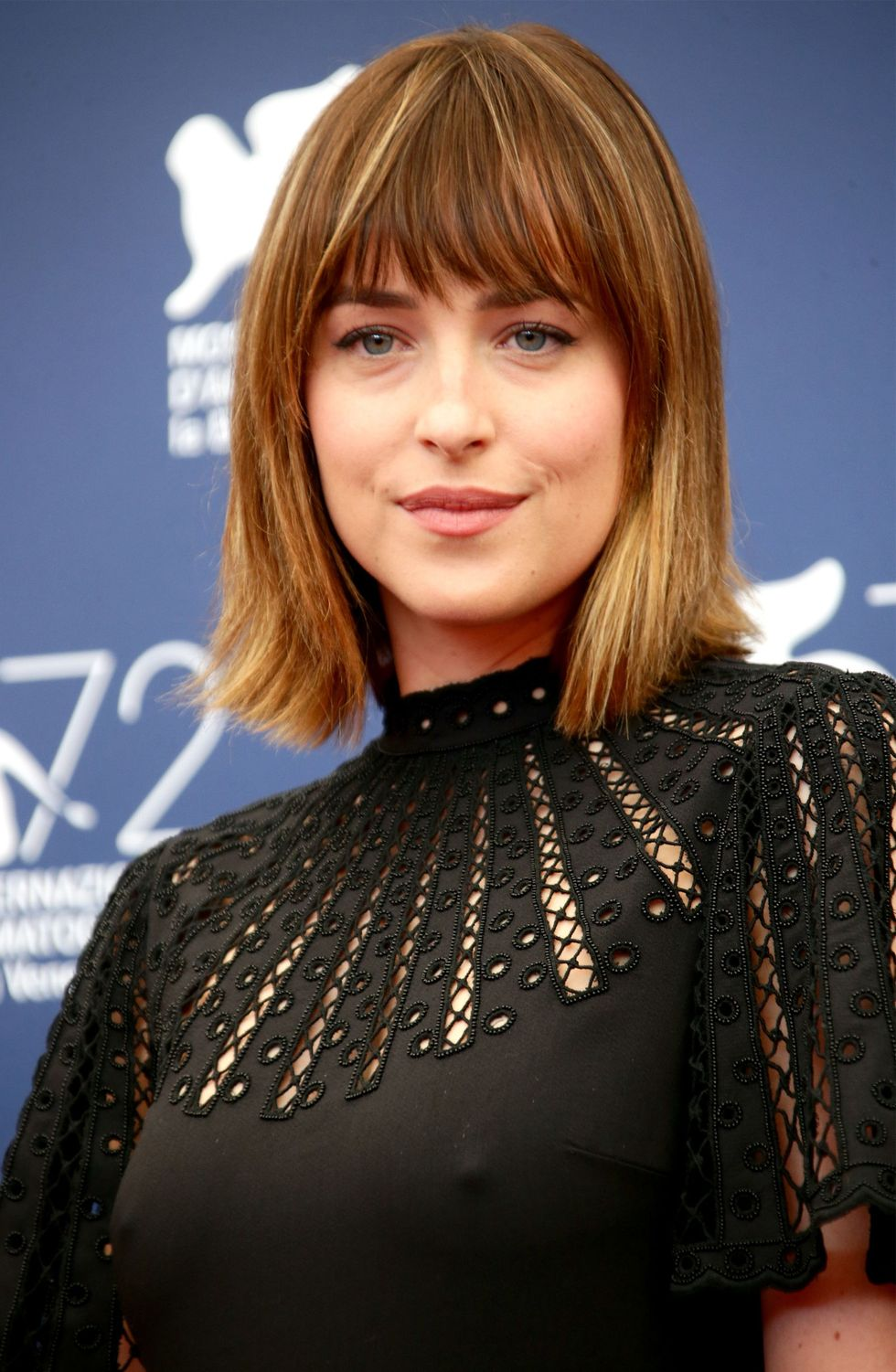 Dakota Johnson's Blonde Tips
