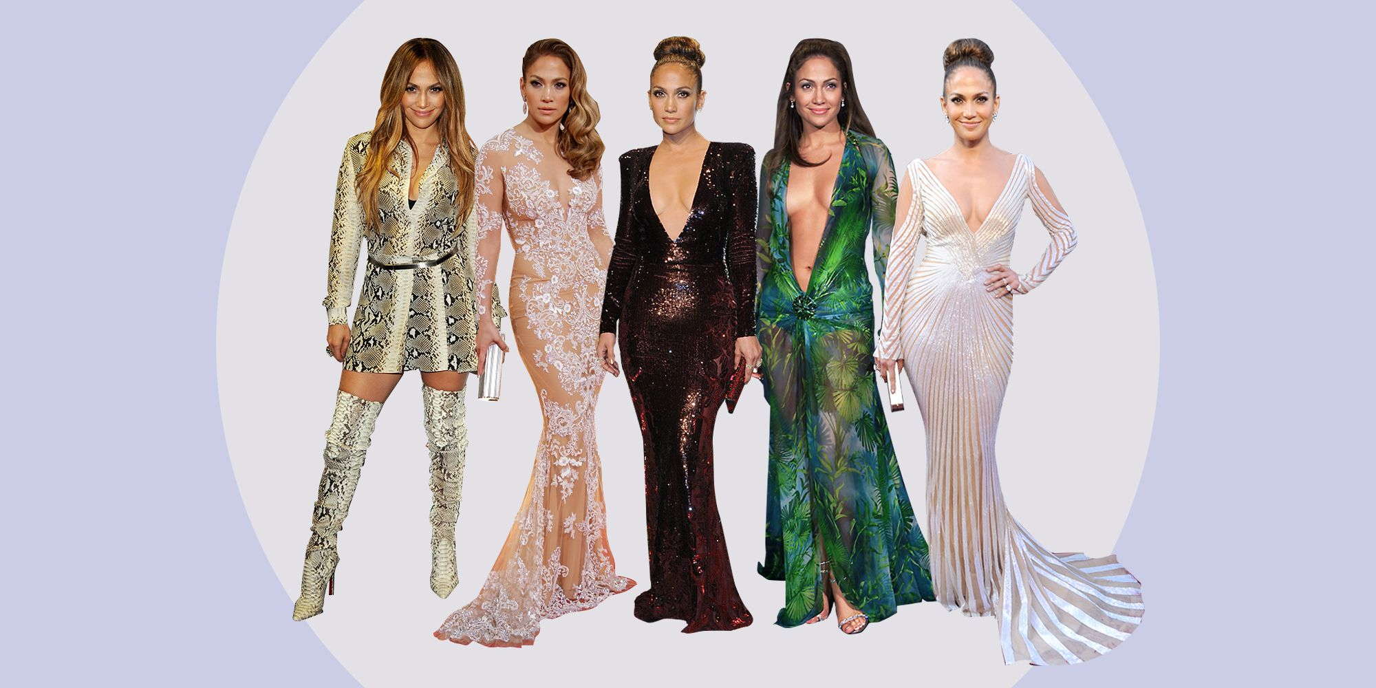 Jennifer Lopez Best Fashion Looks of All Time - JLo Clothing Photos