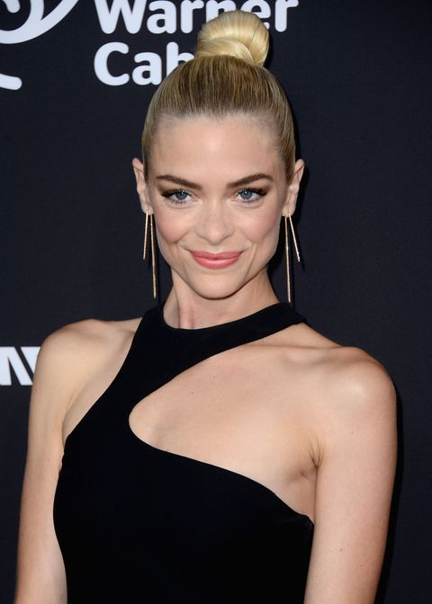 Hair, Face, Shoulder, Hairstyle, Beauty, Eyebrow, Lip, Dress, Chin, Blond,