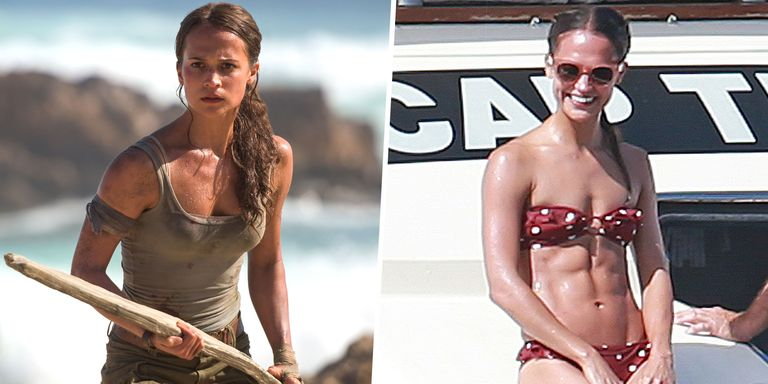 Alicia Vikander Lara Croft Diet and Exercise