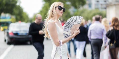 White, Street fashion, Fashion, Eyewear, Beauty, Snapshot, Blond, Glasses, Sunglasses, Lip,