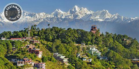 Mountainous landforms, Mountain range, Hill station, Mountain, Residential area, Summit, Hill, Arête, Ridge, Alps,