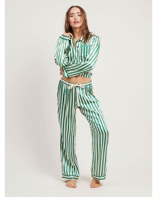 "<p>Pajamas!&nbsp&#x3B;</p><p><strong data-redactor-tag=""strong"" data-verified=""redactor"">BUY IT: Morgan Lane, $558&#x3B; <a href=""https://www.morgan-lane.com/collections/pajamas/products/ruthie-emerald-pj-set?variant=33729873746"" target=""_blank"" data-tracking-id=""recirc-text-link"">morganlane.com</a>.</strong></p>"