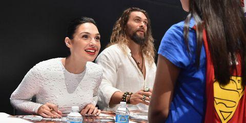 Gal Gadot meets young Wonder Woman fan