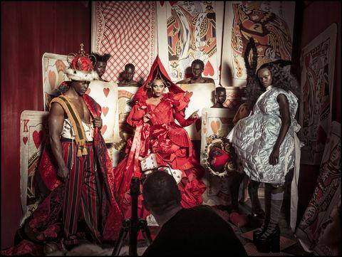 Fashion, Textile, Design, Theatrical property, Event, Costume, Costume design, Room, Temple, Tradition,