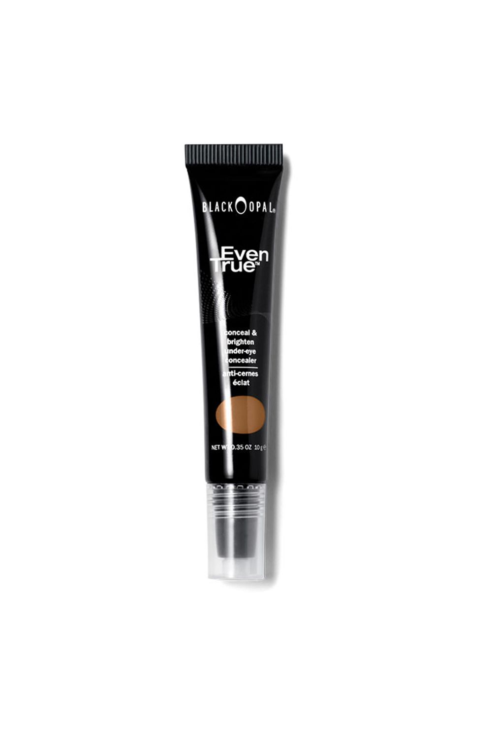 "<p>This light-reflecting concealer has a rollerball applicator, helping it glide over your under-eyes without tugging or pulling. And don't worry—tan is just one of the lightest shades.</p><p><i data-redactor-tag=""i"">Black Opal Even True Brightening Under-Eye Concealer in Tan, $8.95</i></p><p><strong data-redactor-tag=""strong"">BUY IT: <a href=""https://www.blackopalbeauty.com/shop/makeup/face/concealers/even-true-brightening-under-eye-concealer"">blackopalbeauty.com</a>.</strong></p>"