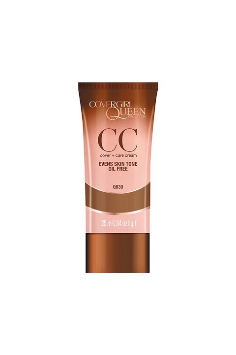 "<p>This lightweight CC cream covers like a foundation, but feels like a tinted moisturizer, and it won't settle into fine lines by the end of the day. &nbsp;</p><p><i data-redactor-tag=""i"">CoverGirl Queen Collection CC Cream, $8</i></p><p><strong data-redactor-tag=""strong"">BUY IT: <a href=""CoverGirl%20Queen%20Collection%20CC%20Cream"">walmart.com</a>.&nbsp;</strong></p>"