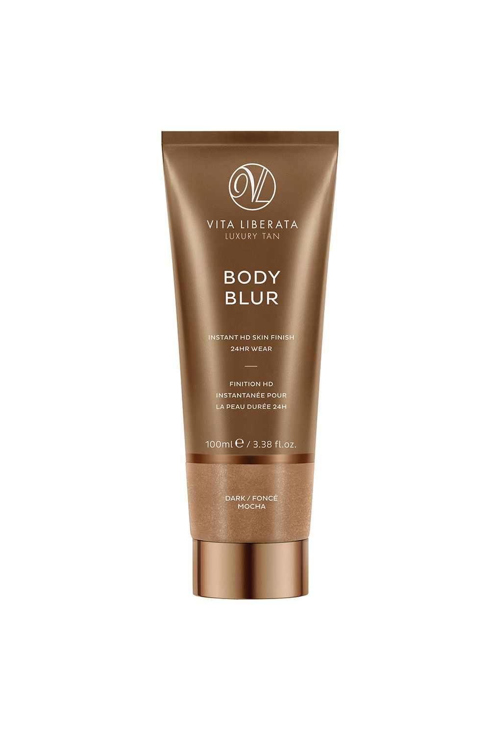 "<p>Meet your real-life Instagram filter. This wash-off bronzer won't deepen your skin tone like other self-tanners, but will instead even out discoloration and hyperpigmentation for an airbrushed-looking finish.</p><p><i data-redactor-tag=""i"">Vita Liberata Body Blur, $45</i></p><p><strong data-redactor-tag=""strong"">BUY IT: </strong><a href=""https://www.vitaliberata.com/body-blur-instant-skin-finish-dark/""><strong data-redactor-tag=""strong"">vitaliberata.com</strong></a><strong data-redactor-tag=""strong"">.</strong></p>"