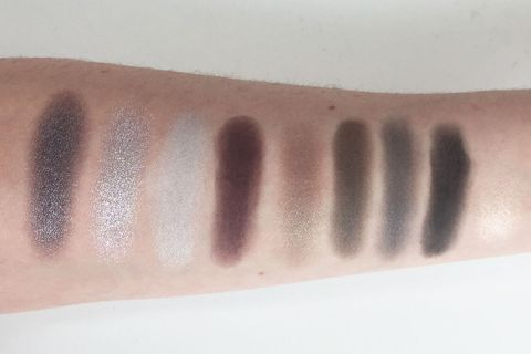 "<p>If being basic means loving smoky maroon, lilac, and khaki shadows, then we're honestly not too broken up about it. <i data-redactor-tag=""i"">MAC #MacGirls Basic Bitch, $39.50</i>