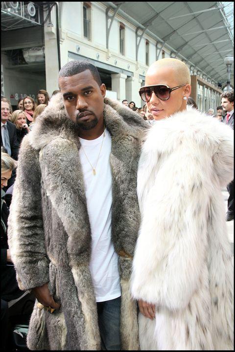 Fur clothing, Fur, Fashion, Street fashion, Clothing, Outerwear, Textile, Jacket, Fashion design, Eyewear,