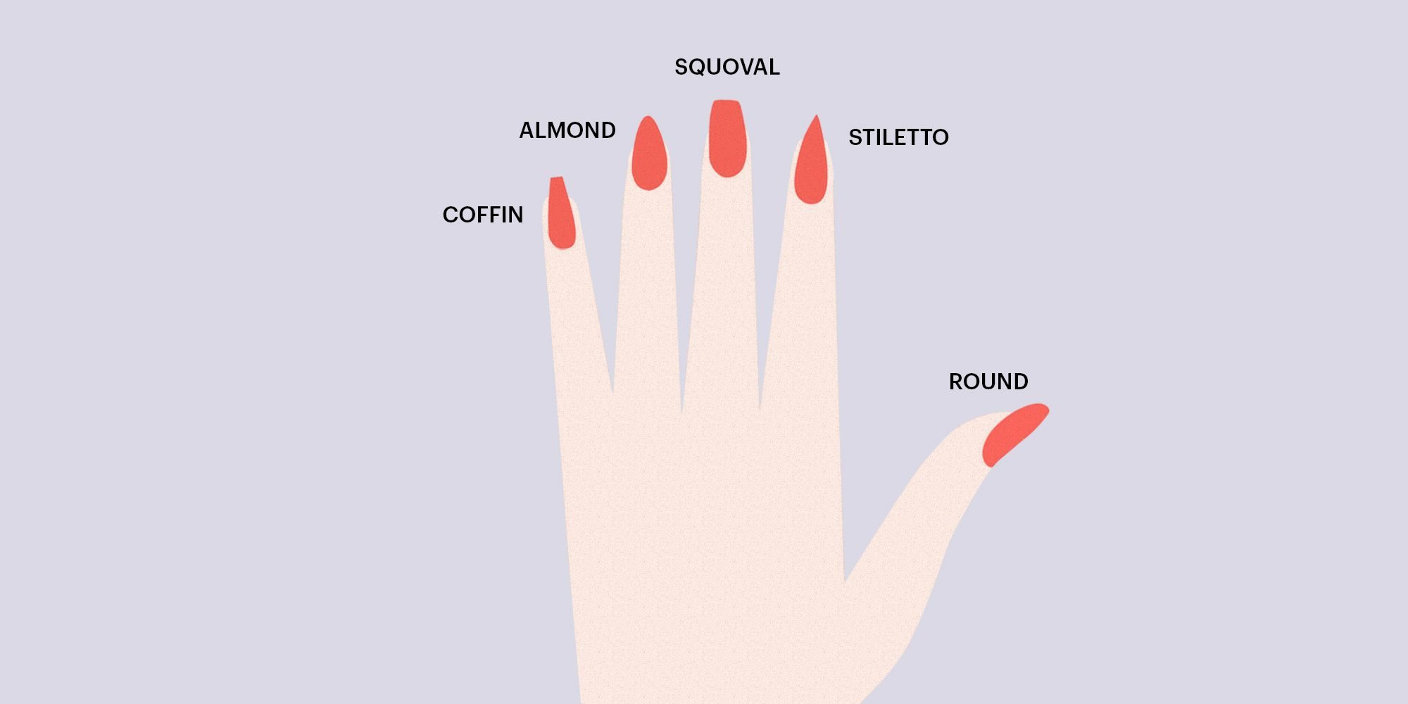 7 Different Nail Shapes - How To Pick A Nail Shape