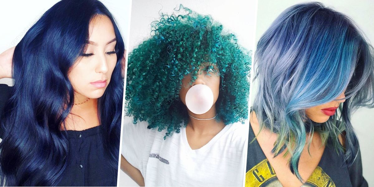 15 best blue hairstyle ideas pretty and cool blue hair inspo pics urmus Images