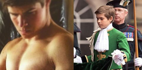 The Queen's Former Page Boy Just Posted a Really Hot Shirtless Selfie