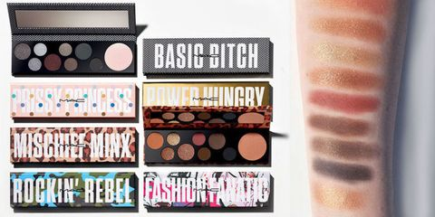 Brown, Pink, Peach, Tints and shades, Organ, Eye shadow, Cosmetics, Lipstick, Paint, Collection,